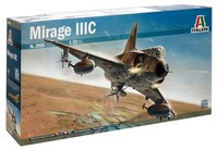 Italeri - 1/32 Mirage III (Plastic Model Kit - Includes Decals for SAAF) - Cover