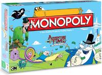 Monopoly - Adventure Time Edition (Board Game) - Cover