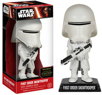Funko Pop! Star Wars - Bobble Head Star Wars - First Order Snowtrooper Wacky Wobbler Figure (the Force Awakens) - Cover