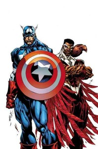Captain America & the Falcon - Christopher Priest (Paperback) - Cover