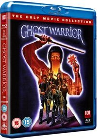 Ghost Warrior (Blu-ray) - Cover