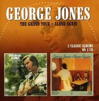 George Jones - Grand Tour / Alone Again (CD) - Cover