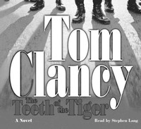 The Teeth of the Tiger - Tom Clancy (CD/Spoken Word) - Cover