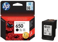 HP No 650 Black Ink Cartridge - Cover
