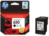 HP No 650 Black Ink Cartridge
