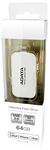 ADATA i-Memory UE710 64GB Flash Drive - White