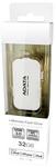 ADATA i-Memory UE710 128GB Flash Drive - White
