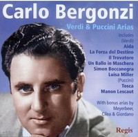 Carlo Bergonzi - Sings Puccini Verdi & More (CD) - Cover