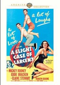 Slight Case of Larceny (Region 1 DVD) - Cover