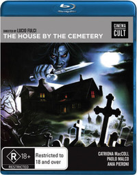 House By the Cemetery (Region A Blu-ray) - Cover