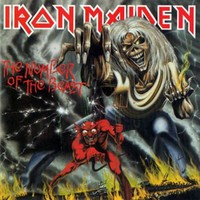 Iron Maiden - Number of the Beast (CD) - Cover