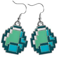 Minecraft Diamond Earrings - Cover