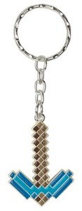 Minecraft Diamond Pickaxe Keychain - Cover