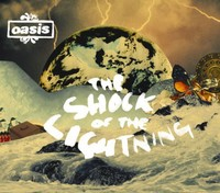 Oasis - Shock of the Lightning (CD) - Cover