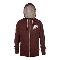 The Witcher 3 Arsenal Zip-up Hoodie Burgundy (X-Large) - Cover