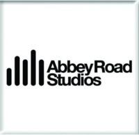Abbey Road Studio Logo White Fridge Magnet - Cover