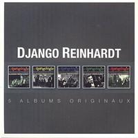 Django Reinhardt - Original Album Series (CD) - Cover