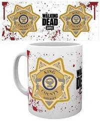 The Walking Dead Sheriff Badge Boxed Mug - Cover