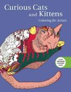 Curious Cats and Kittens Adult Coloring Book - Skyhorse Publishing (Paperback)