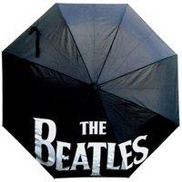 Beatles Drop T Logo Black Umbrella - Cover