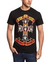 Guns N Roses Appetite For Destruction T-Shirt (Medium) - Cover