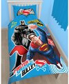 Batman v Superman Single Panel Duvet Set Cover