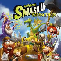 Smash Up - Munchkin Edition (Card Game)