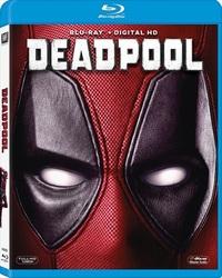 Deadpool (Blu-ray) - Cover