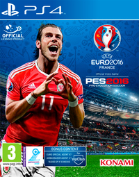 Pro Evolution Soccer - UEFA Euro 2016 Edition (PS4) - Cover