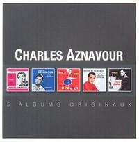 Charles Aznavour - Original Album Series (CD) - Cover