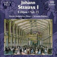 Various Artists - Strauss: Edition 21 (CD) - Cover