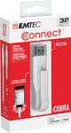 Emtec T500 iCobra Dual Lightning On the Go 2-in-1 USB 3.0 Flash Drive - 32GB