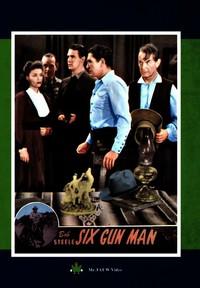 Six Gun Man (Region 1 DVD) - Cover