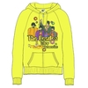 The Beatles Sub Band & Logo Ladies Yellow Zip Hoodie (X-Large)