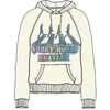 The Beatles Abbey Road Spray Ladies Natural Hoodie (Medium)