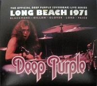 Deep Purple - Long Beach 1971 (CD) - Cover