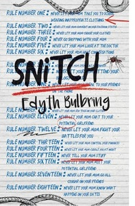 Snitch - Edyth Bulbring (Paperback) - Cover