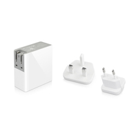 Macally - 24w 2 Port USB Wall Charger for iPad/Tablet, iPhone/Smartphone - Cover