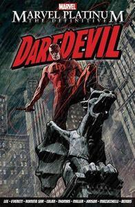 Marvel Platinum: the Definitive Daredevil - Stan Lee (Paperback) - Cover