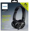 Philips Wired Active Noise Cancelling Headphones - Black (97%)