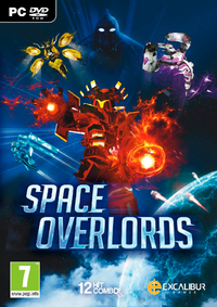 Space Overlords (PC) - Cover