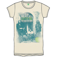 The Beatles Let It Be/You Know My Name Boys Natural T-Shirt (Medium) - Cover