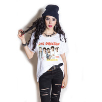 One Direction Individual Shots Cut Out Tee (Large) - Cover