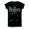 The Beatles Iconic & Logo Boys Black T-Shirt (Small)