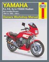 Yamaha Fj600, Fz600, Xj600 and Yx600 Radian Owners Workshop Manual - John G. Edwards (Paperback)