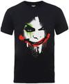Batman Arkham City Halloween Joker Face Mens T-Shirt (Small)