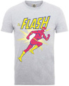 Flash Running Mens Heather Grey T-Shirt (X-Large)