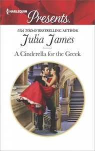 A Cinderella for the Greek - Julia James (Paperback) - Cover