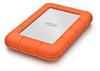LaCie Rugged Mini - 1TB External Hard Drive USB 3.0 Silver/Orange