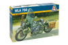 Italeri - 1/9 U.S. Army WWII WLA 750 Motorcycle (Plastic Model Kit)